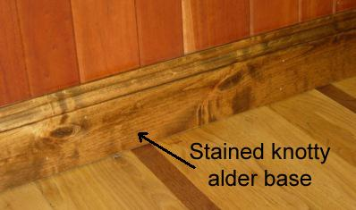 Knotty Alder Wood Trim