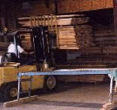 Lumber warehouse in Arlee